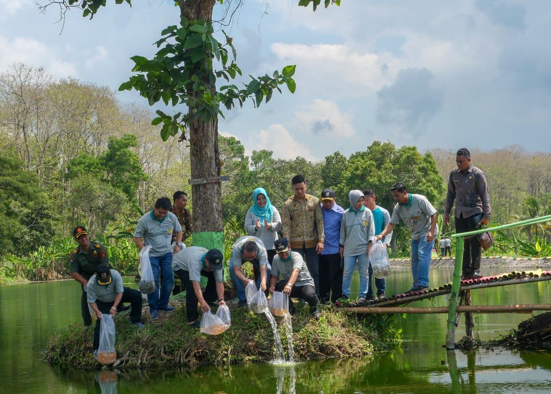 Launching Progam Inovasi INCAR di Sendang Arya Wiraraja Desa Wonorejo Kecamatan Kedungjajang